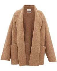 Lauren Manoogian Shawl-lapel Cardigan - Natural