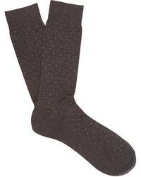Pantherella - Gadsbury Pin-dot Socks - Lyst