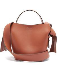 Acne Studios - Musubi Mini Leather Cross-body Bag - Lyst