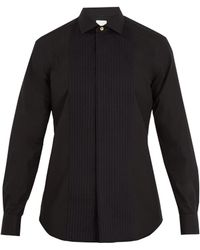 Paul Smith - Double-cuff Bib-front Cotton Shirt - Lyst