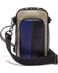 Bottega Veneta - Intrecciato Woven Cross Body Bag - Lyst