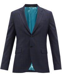 Paul Smith - チェック ウールツイル スーツジャケット - Lyst