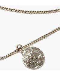 Emanuele Bicocchi Caesar Sterling-silver Necklace - Metallic