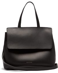 Mansur Gavriel - Lady Drawstring Leather Bag - Lyst