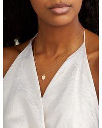 Raphaele Canot Set Free 18kt Gold & Diamond Z-charm Necklace - Metallic