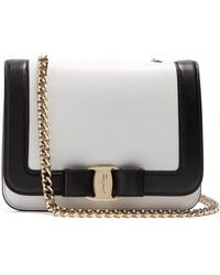 Ferragamo - Vara Rainbow Leather Cross-body Bag - Lyst