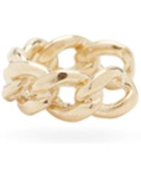 Zoe Chicco Curb-chain 14kt Gold Ear Cuff - Metallic