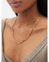 Azlee Collier chaîne à maillons en or 18 carats - Métallisé