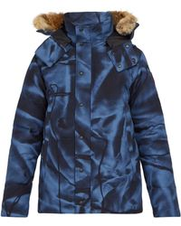 Canada Goose Wyndham Quilted Parka - Blue