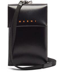 Marni テクスチャードpvc マイクロバッグ - マルチカラー