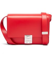 Givenchy 4g ミディアム レザーバッグ - レッド