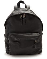 Eastpak   Padded Pak'r Leather Backpack   Lyst