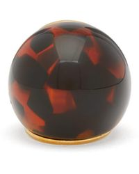 Fendi Spherical Large Tortoiseshell-effect Ring - Brown