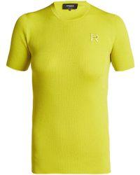 Rochas - Ribbed Virgin Wool Sweater - Lyst