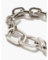 Givenchy Gリンク メタルブレスレット - メタリック