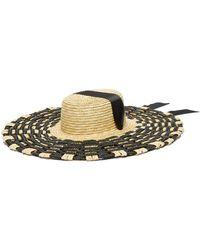 Eliurpi - Braided Straw Hat - Lyst