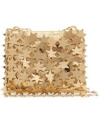 Paco Rabanne Comet 1969 Iconic Chainmail-star Clutch Bag - Metallic