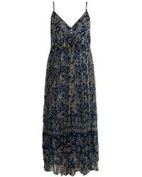 Mes Demoiselles - Batik V-neck Dress - Lyst