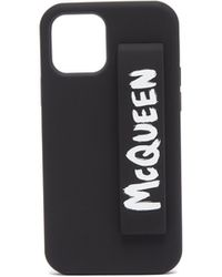 Alexander McQueen ロゴプリント Iphone 12 Pro ケース - ブラック