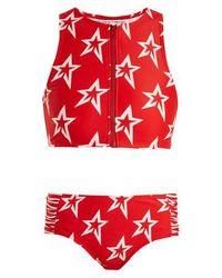 Perfect Moment - Star Crewneck Bikini - Lyst