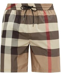 Burberry Exploded Check Swim Shorts - Multicolour