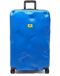 Crash Baggage ストライプ スーツケース 79cm - ブルー
