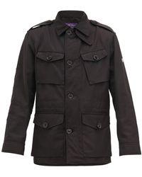 Ralph Lauren Purple Label Wrexham Shell Field Jacket - Black
