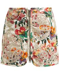 Isabel Marant - Rilzen Hawaiian-print Cotton Mini Skirt - Lyst