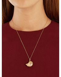 Aurelie Bidermann Aurélie Bidermann Fine Jewellery ダイヤモンド&サファイア 18kゴールドネックレス - メタリック