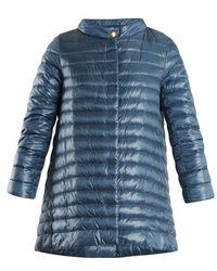Herno - High-neck Quilted Down Jacket - Lyst
