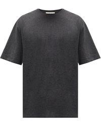 The Row ジョシア コットンカシミアtシャツ - グレー
