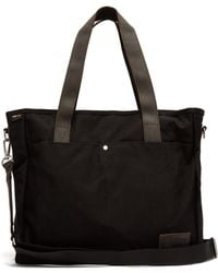 Eastpak - Kerr Canvas And Leather Tote - Lyst
