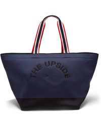The Upside Logo Embroidered Neoprene Tote