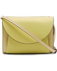 Marni Law Panelled Leather Belt Bag - Multicolour
