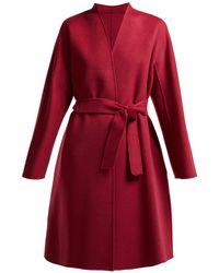 Weekend by Maxmara - Gimmy Belted Wool Coat - Lyst
