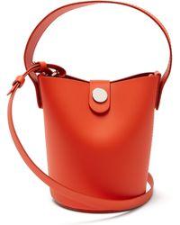 Sophie Hulme - Orange Nano Swing Bucket Bag - Lyst