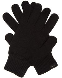 Paul Smith Cashmere-blend Gloves - Black