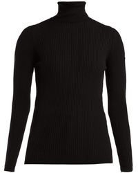 Fusalp - Ancelle Ribbed-knit Roll-neck Sweater - Lyst