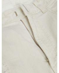 Givenchy ダメージ スリムジーンズ - ホワイト
