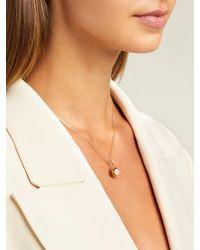 Aurelie Bidermann Aurélie Bidermann Fine Jewellery 18kゴールド&ダイヤモンド ペンダントネックレス - メタリック