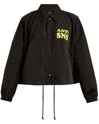 Undercover - Logo-print Lightweight Jacket - Lyst