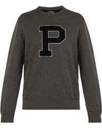 Polo Ralph Lauren - Appliquéd Sweatshirt - Lyst