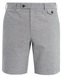 Boglioli - Straight-leg Cotton-blend Shorts - Lyst