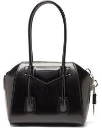 Givenchy アンティゴナ ミニ レザーバッグ - ブラック