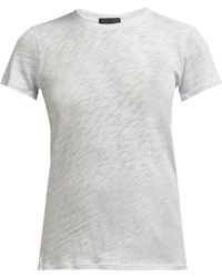 ATM - Slubbed Cotton Jersey T Shirt - Lyst