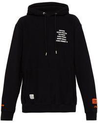 424cc78f84115 Lyst - Gucci Unskilled Worker Hooded Sweatshirt for Men