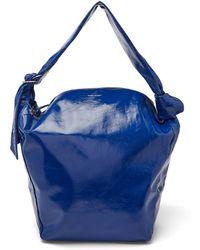 Isabel Marant - Eewa Patent-leather Shoulder Bag - Lyst