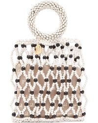 Rosantica Jules Beaded Clutch Bag - Multicolour