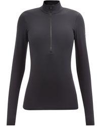 Fusalp Gemini Iv Half-zip Technical-jersey Thermal Top - Black