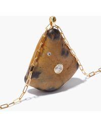 CVC Stones Heartbeat Diamond & 18kt Gold Necklace - Black